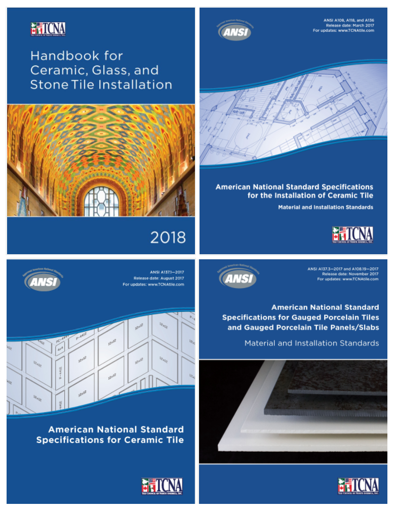 Publications The Tile Council Of North America