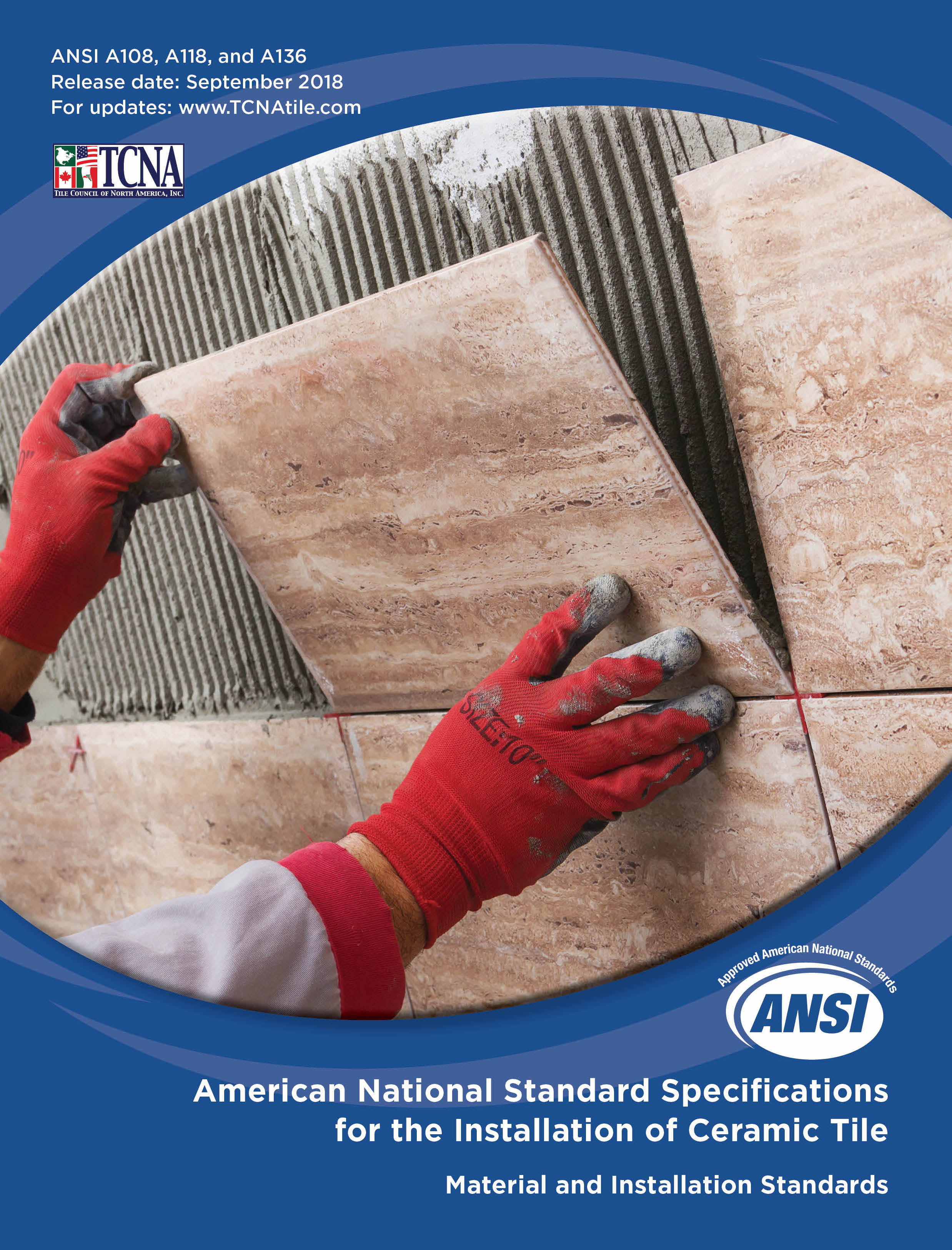 2018 Tcna Handbook For Ceramic Glass And Stone Tile Installation