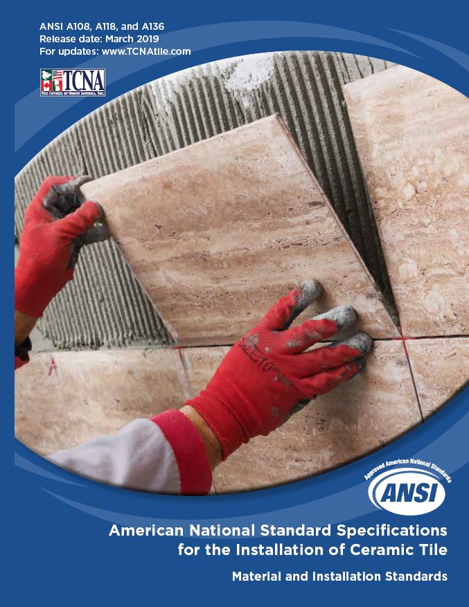 2019 TCNA Handbook For Ceramic Glass And Stone Tile